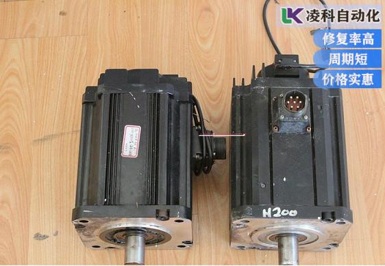 西门子伺服电机故障振动噪音维修实录