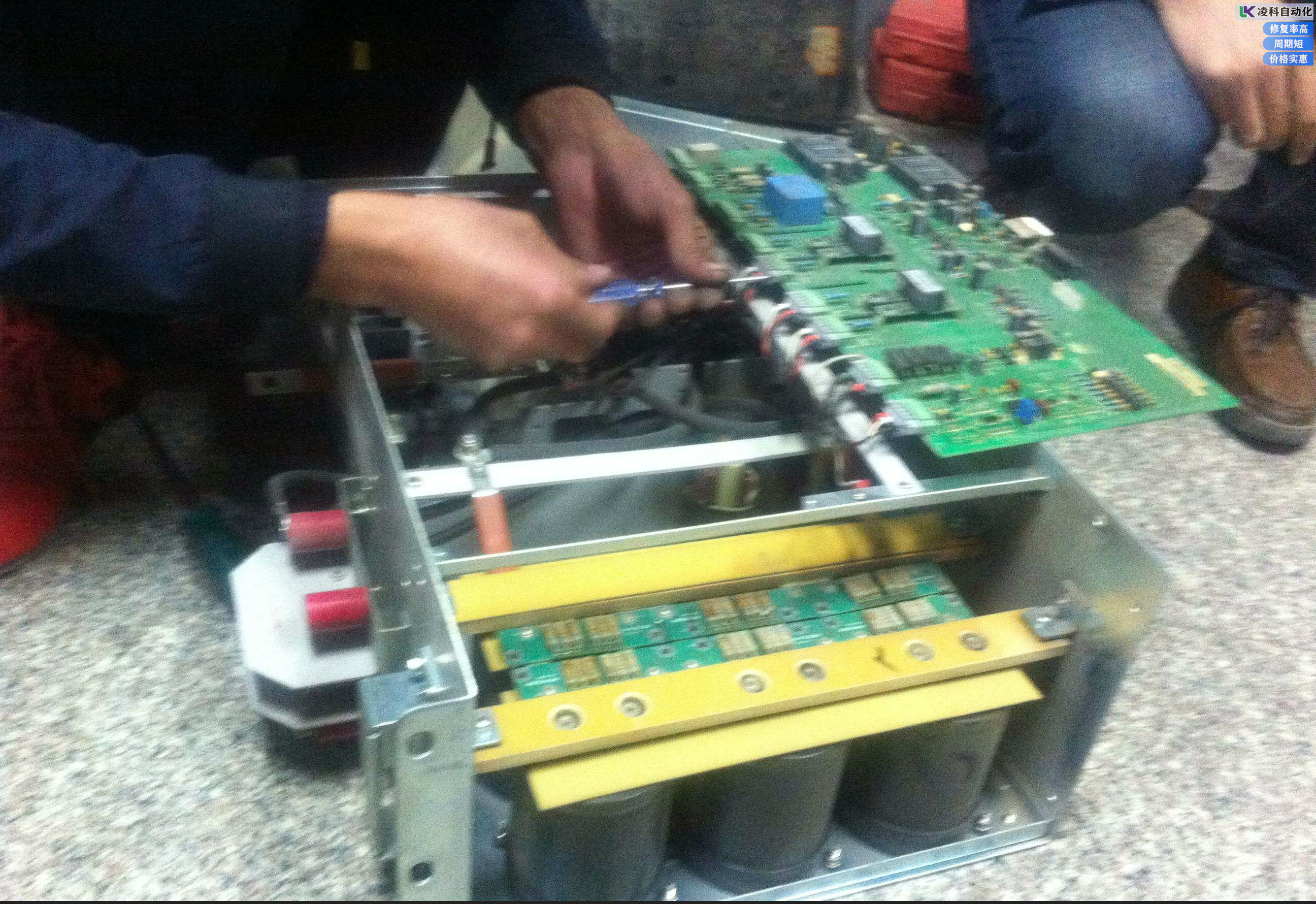 罗宾康变频器上电不显示故障维修经验浅谈