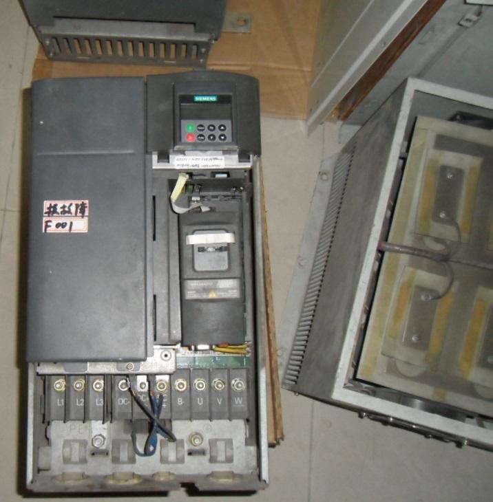 西门子变频器电源锁死奇葩故障维修