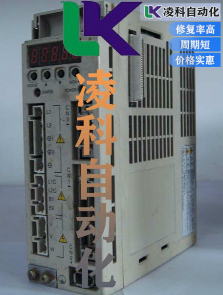 LG伺服驱动器电机三相不平衡故障维修