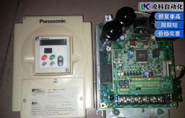 松下变频器上电不显示故障维修