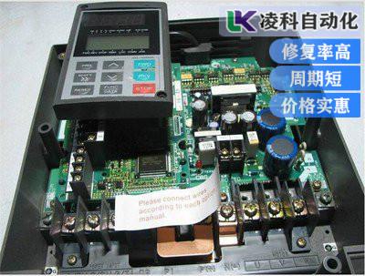 东冈变频器报警OC重度过流故障恢复小方法