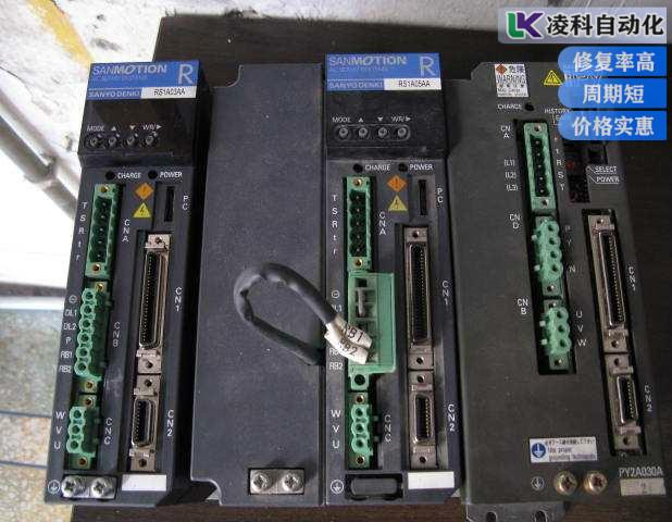 三洋伺服驱动器过电压故障经典经验